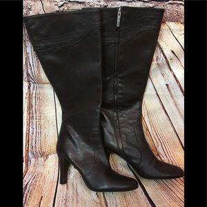 Banana Republic Leather Brown Boots EUC